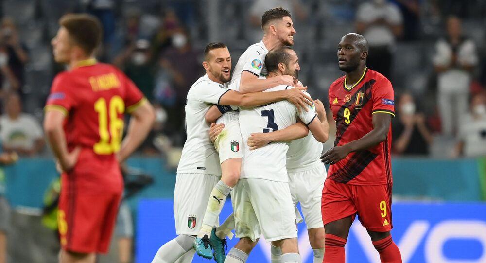 EURO 2020'de ikinci yarı finalist İtalya