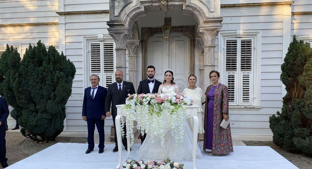 2. Abdülhamid'in torunu İstanbul'da törenle evlendi