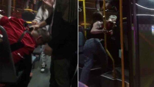 İzmit'te belediye otobüsünde 'taciz' dayağı - Sputnik Türkiye
