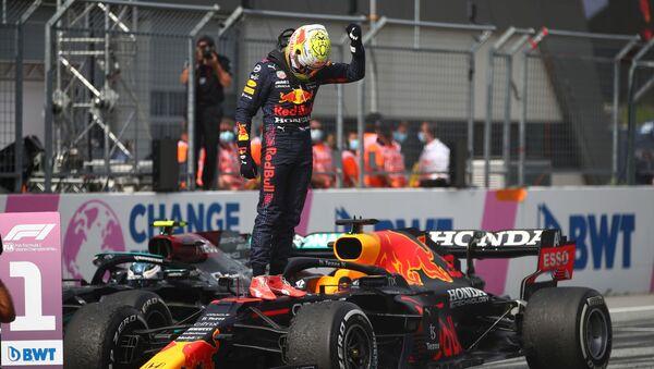 F1 Avusturya Grand Prix'sinde zafer Max Verstappen'in - Sputnik Türkiye