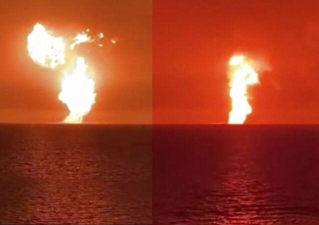 Hazar Denizi patlama
