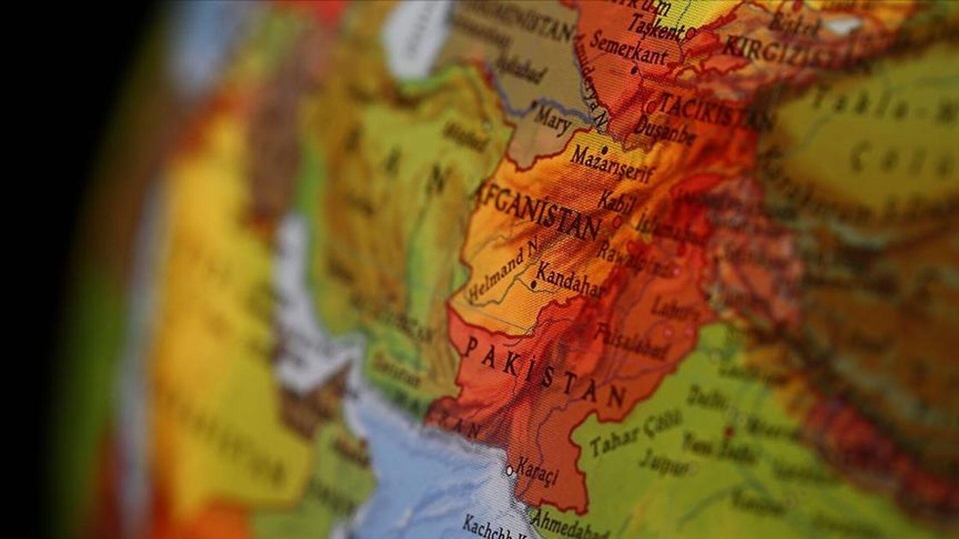 Dünya haritasında Afganistan - Sputnik Türkiye, 1920, 05.07.2021