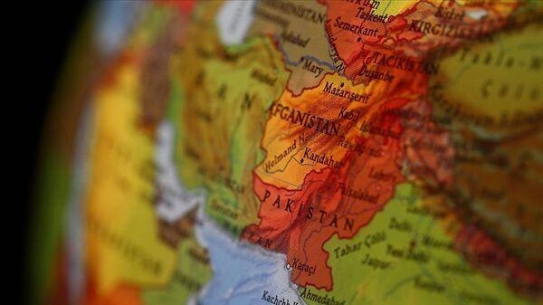 Dünya haritasında Afganistan - Sputnik Türkiye