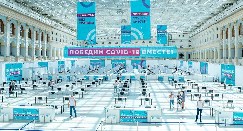 Rusya koronavirüs aşılama Moskova