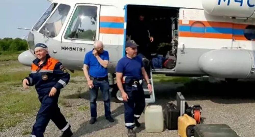Kamçatka'da düşen Rus yolcu uçağı