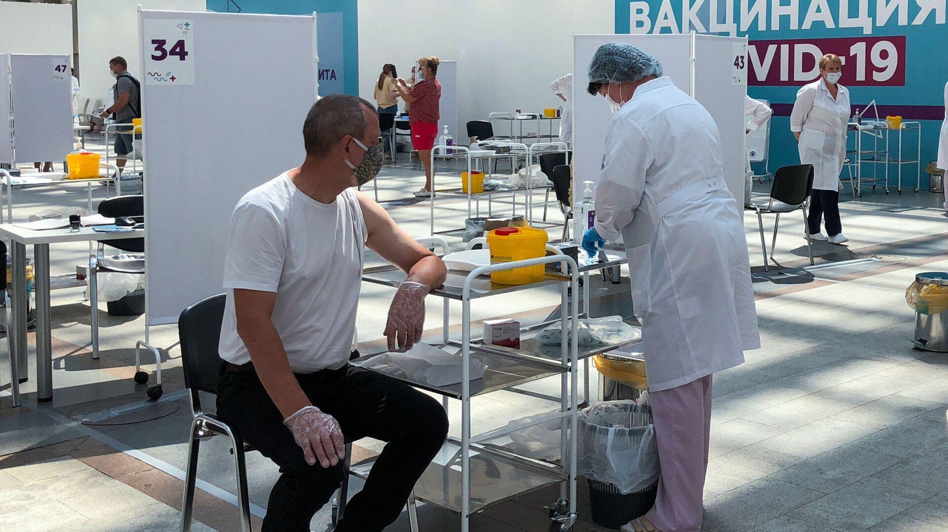 Rusya'da kovid-19 aşı uygulaması - Sputnik Türkiye, 1920, 06.07.2021