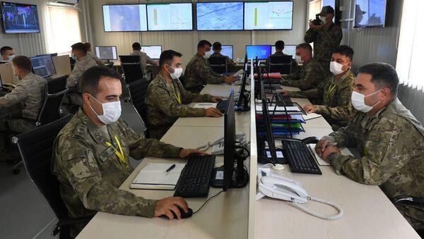 Ağdam'daki Türk-Rus Ortak Gözlem Merkezi - Sputnik Türkiye