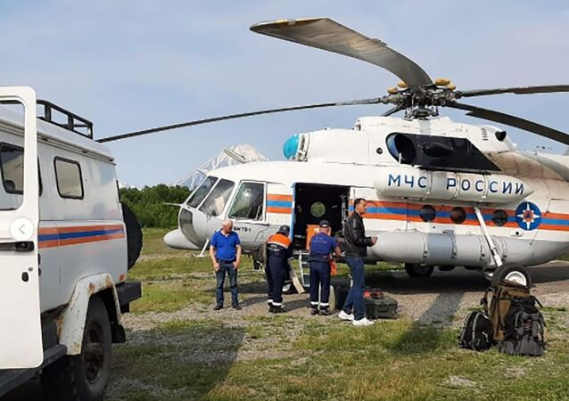 Kamçatka'da uçak kazası