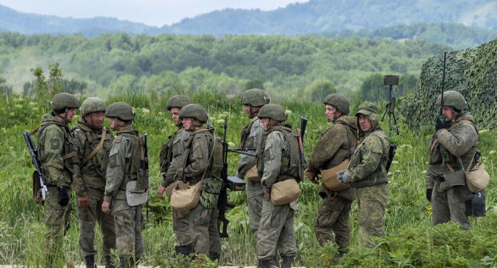 Rus ordusu askeri tatbikat