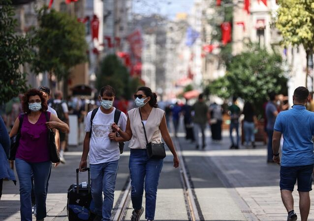 İstanbul - Taksim -  maske