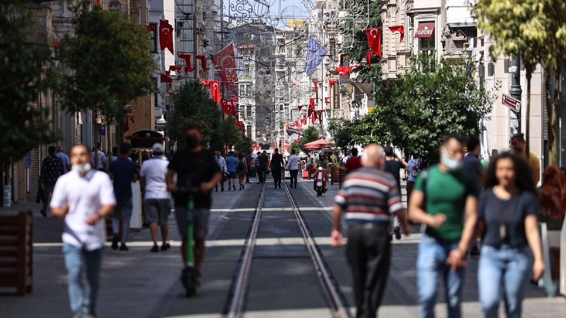 İstanbul - Taksim  - Sputnik Türkiye, 1920, 30.07.2021