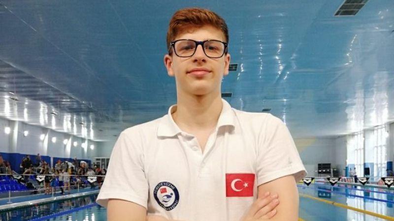 Milli yüzücü Batuhan Filiz, gençlerde Avrupa şampiyonu oldu