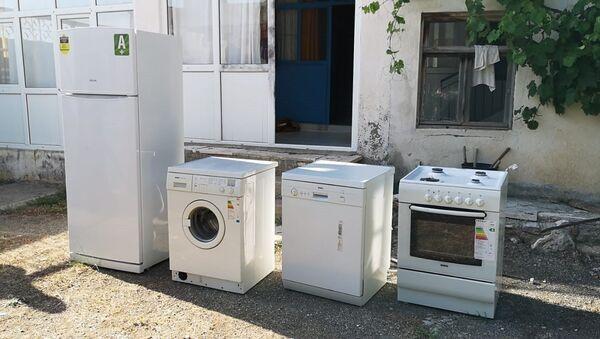 Beyaz eşyalarını çalan hırsız yeğeni çıktı - Sputnik Türkiye