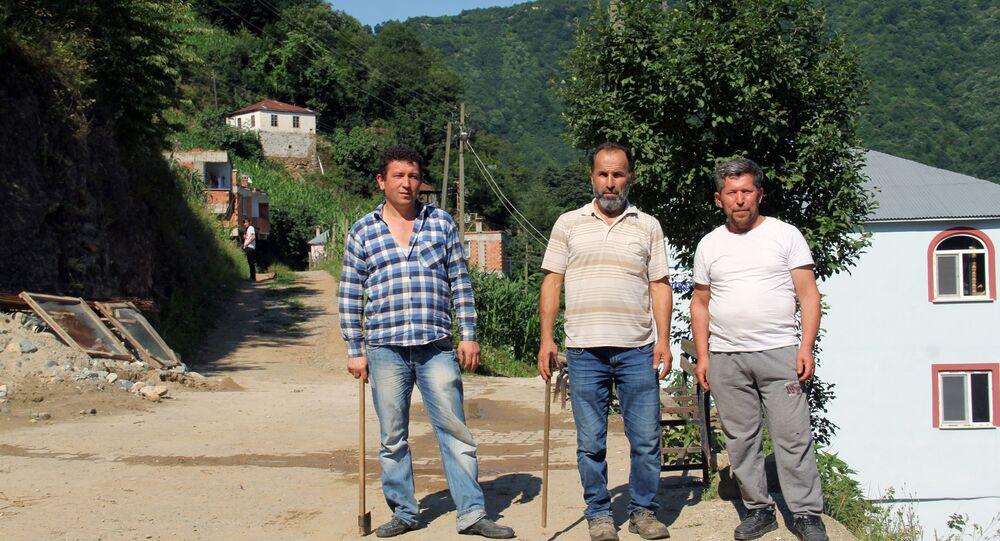 Mehmet Aydın'ın köylüleri