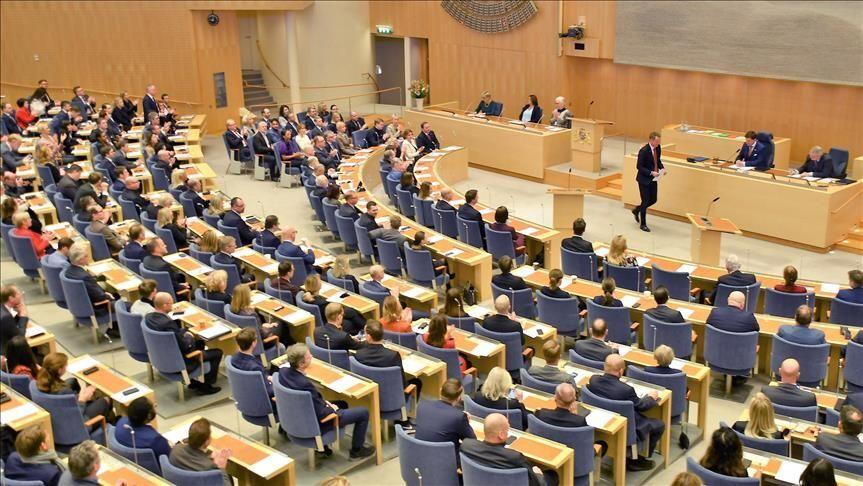 İsveç parlamentosu