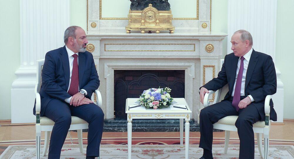Putin - Paşinyan Kremlin