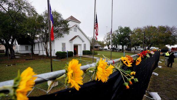 ABD - Teksas - Sutherland Springs - kilise katliamı - Sputnik Türkiye