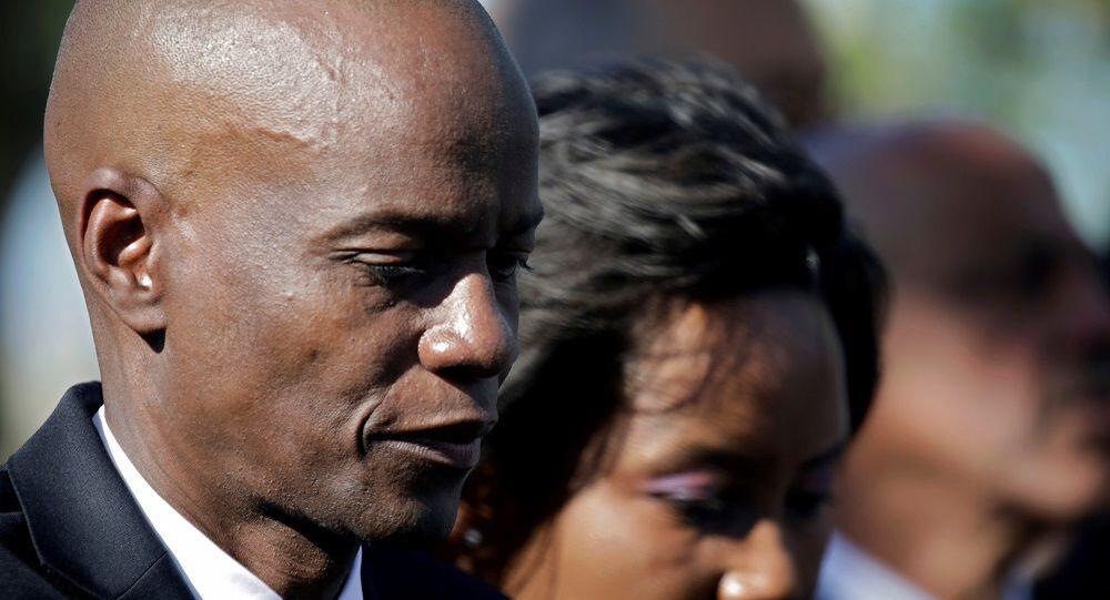 Haiti Devlet Başkanı'nın eşi Martine Moise