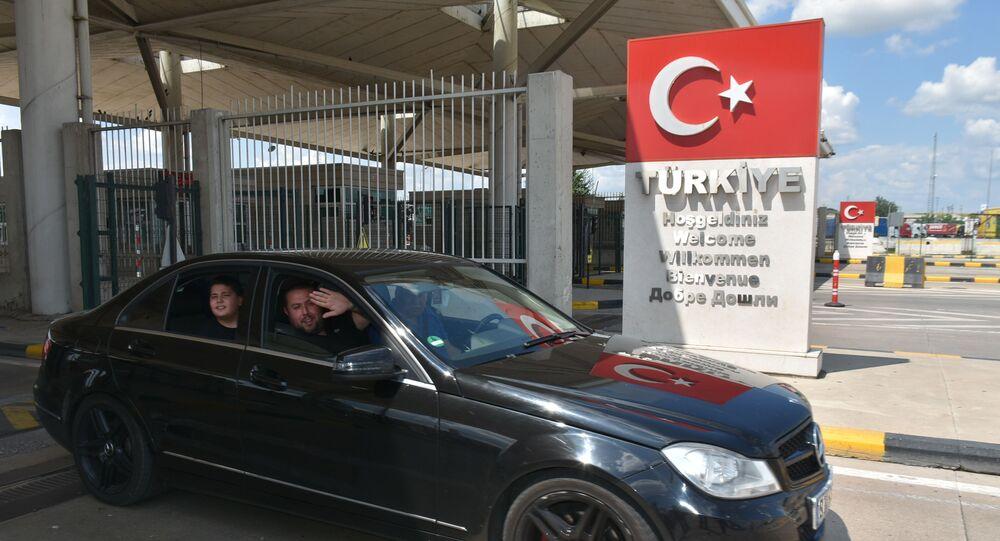 Kapıkule Sınır Kapısı, yurt dışından gelen Türkler