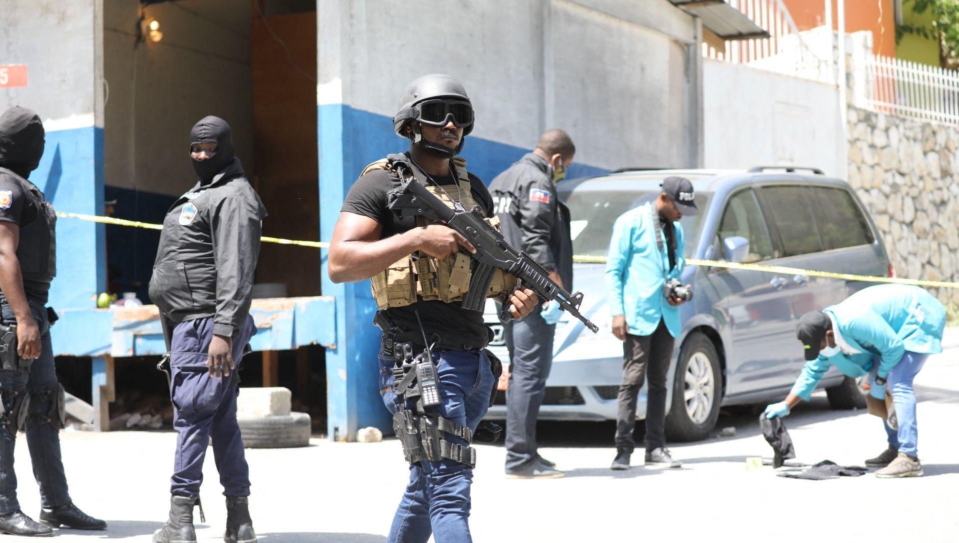 Haiti polisi, devlet başkanı Jovenel Moise suikasti - Sputnik Türkiye, 1920, 08.07.2021
