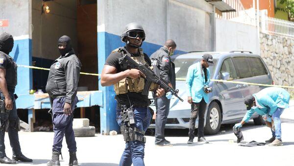 Haiti polisi, devlet başkanı Jovenel Moise suikasti - Sputnik Türkiye