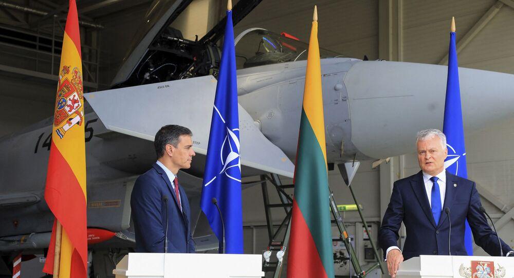 İspanya Başbakanı Pedro Sanchez ve Litvanya Cumhurbaşkanı Gitanas Nauseda