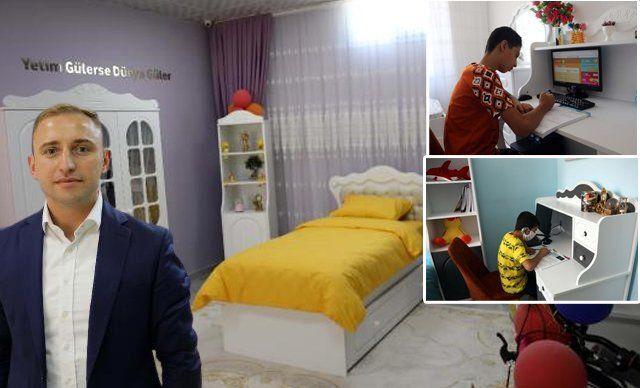 '350 yetim ve öksüz çocuğun özel oda hayali gerçekleştirildi' haberine sosyal medyadan tepki yağdı, valilik açıklama yaptı