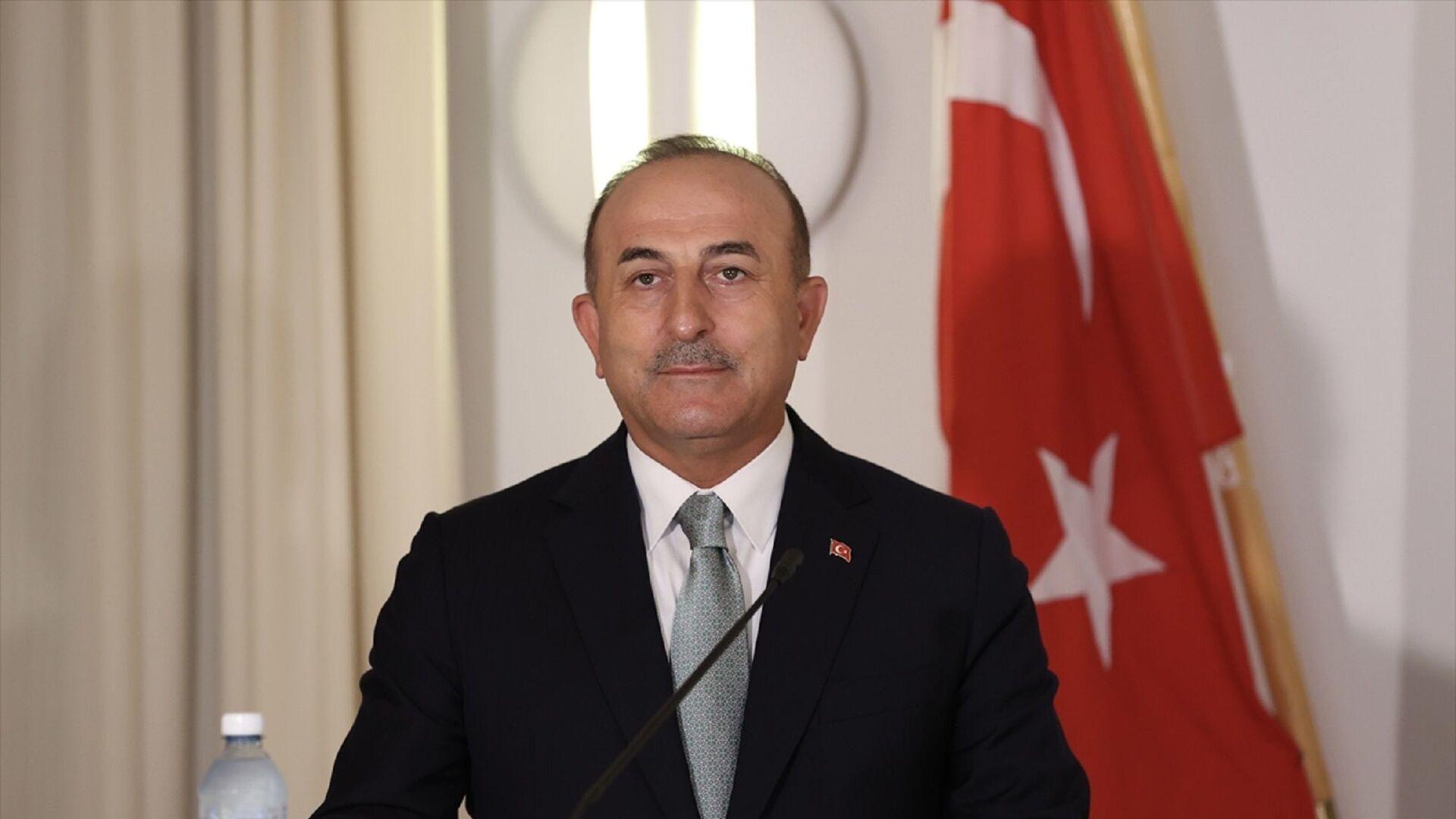 Dışişleri Bakanı Mevlüt Çavuşoğlu - Sputnik Türkiye, 1920, 04.08.2021