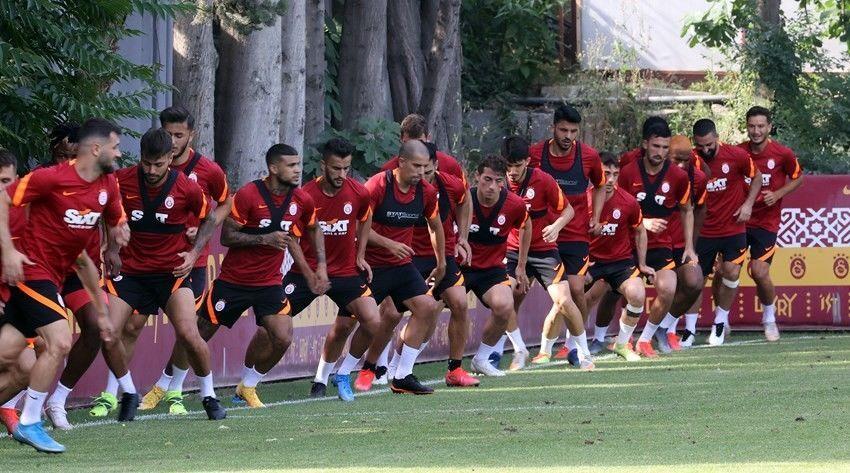 Galatasaray Florya Metin Oktay Tesisleri antrenman