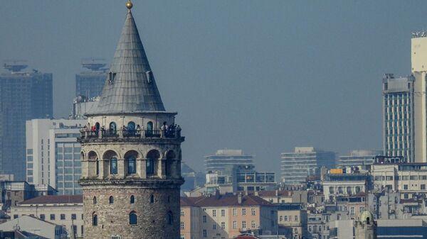 Galata Kulesi-İstanbul manzara - Sputnik Türkiye