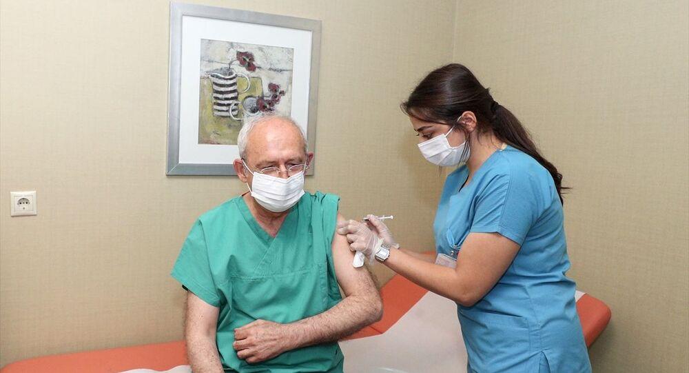 Kemal Kılıçdaroğlu aşı