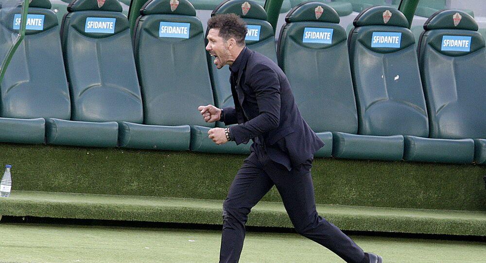 Atletico Madrid, teknik direktör Simeone'nin sözleşmesini uzattı