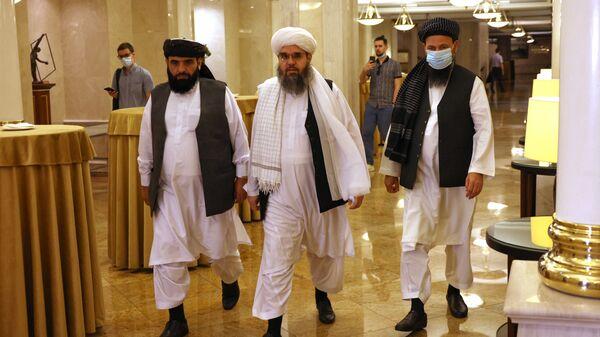 Moskova'da Taliban liderleri - Sputnik Türkiye