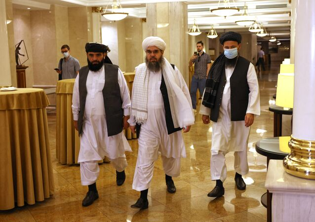 Moskova'da Taliban liderleri