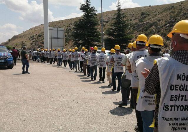 maden işçileri
