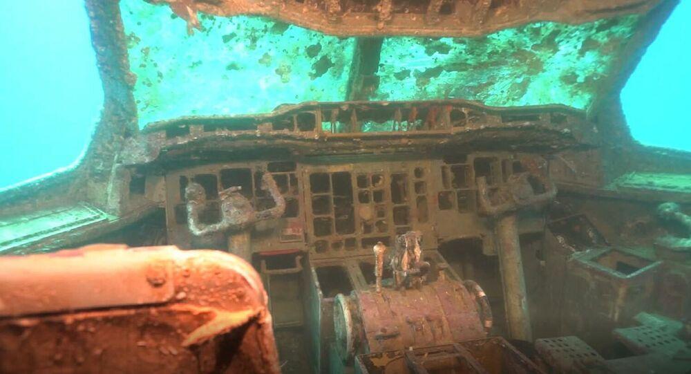 Türkiye'nin en büyük uçak batığı resifi Kuşadası