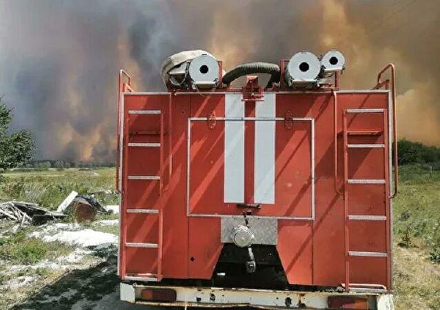 Rusya yangın