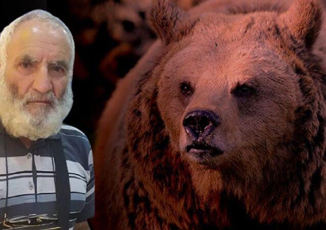 Arazide ölü bulundu, ayı saldırısına uğradığı anlaşıldı