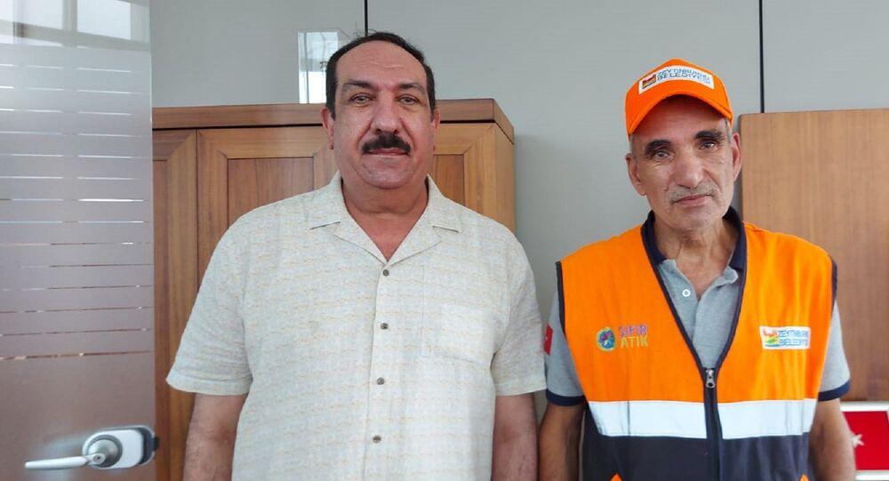 Zeytinburnu'nda temizlik işçisi olarak çalışan Abdülkerim Sağlar - Iraklı Taha Alani