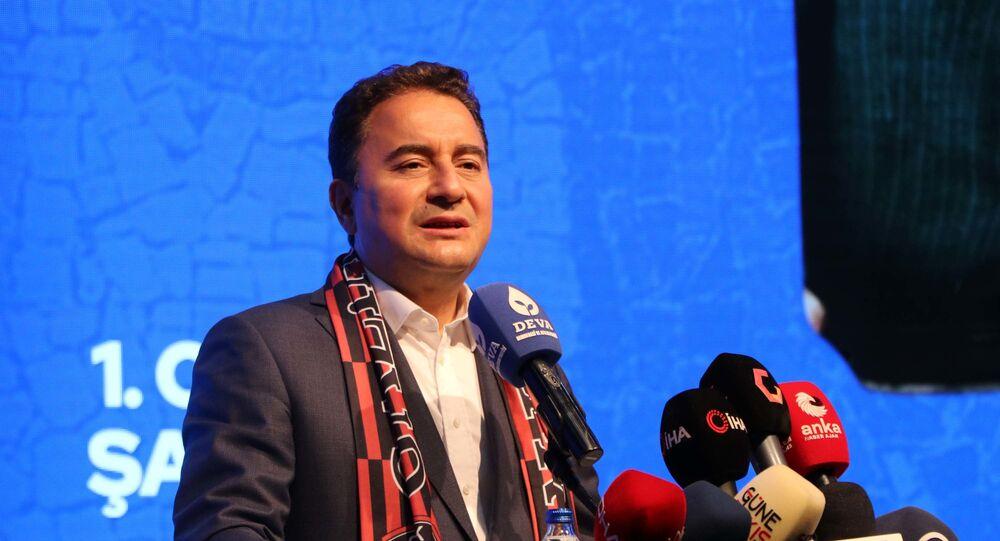Babacan'dan 'Suriyeliler' açıklaması: Bazı partiler 'bunların hepsini  göndereceğiz' diyecekler ama yapamayacaklar - Sputnik Türkiye