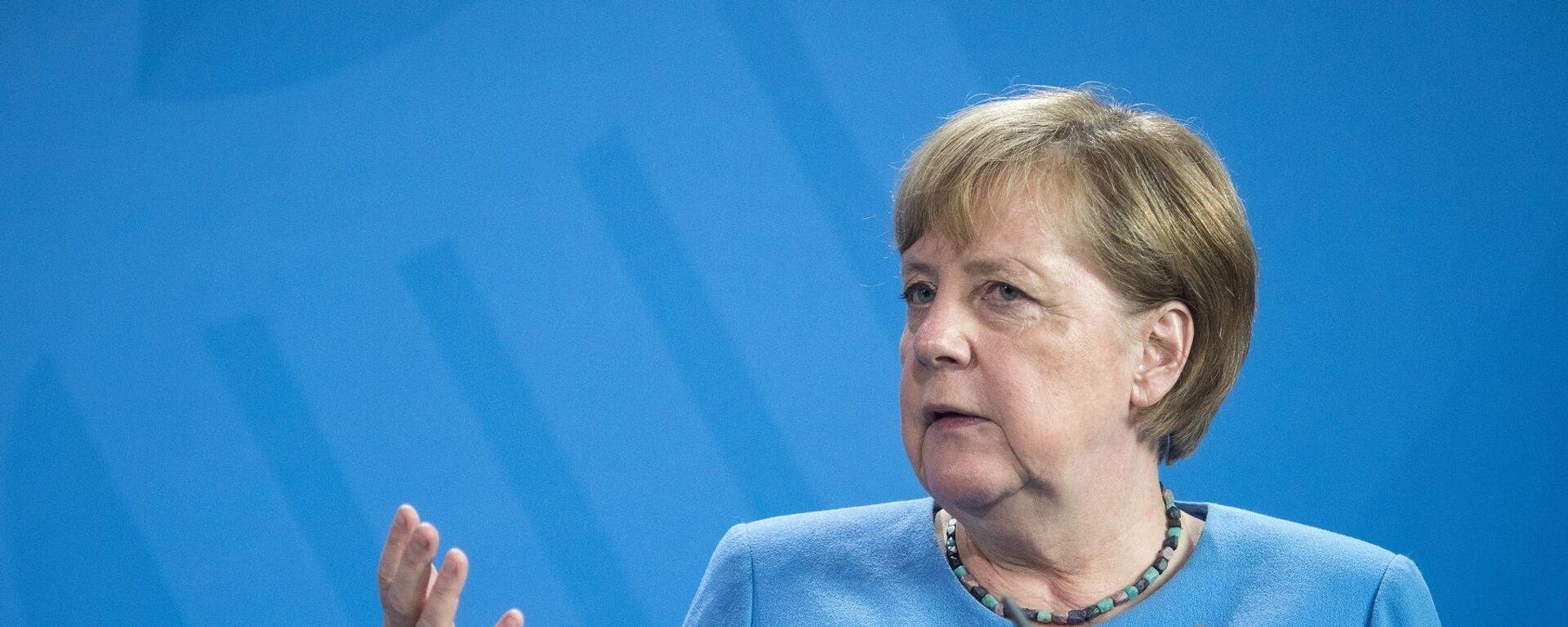 Almanya Başbakanı Angela Merkel - Sputnik Türkiye, 1920, 01.09.2021