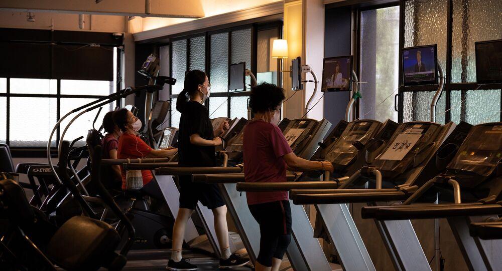 Güney Kore, spor salonu