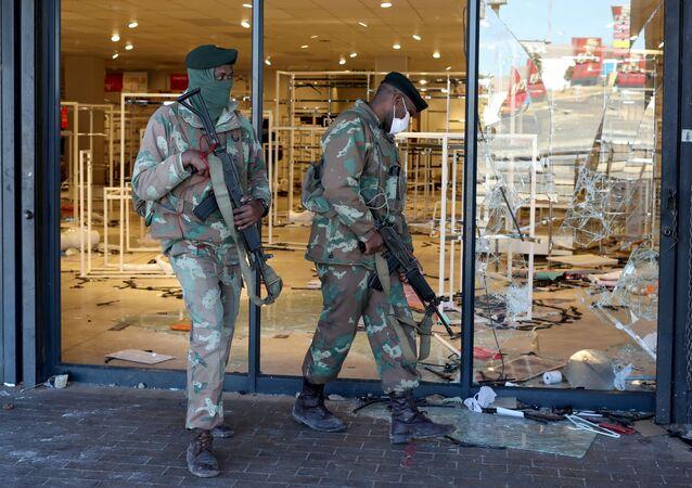 Güney Afrika protestolar