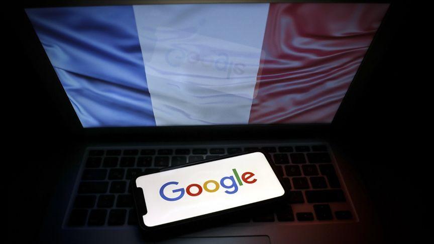 Fransa bayrak - Google