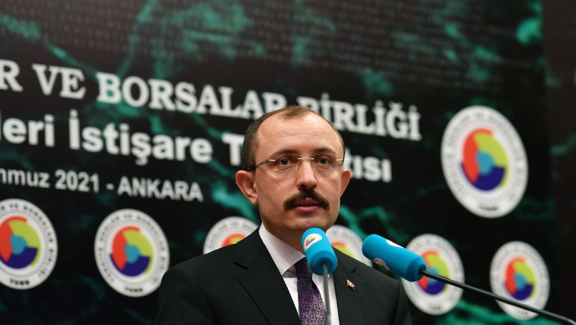 Ticaret Bakanı Mehmet Muş - Sputnik Türkiye, 1920, 29.07.2021