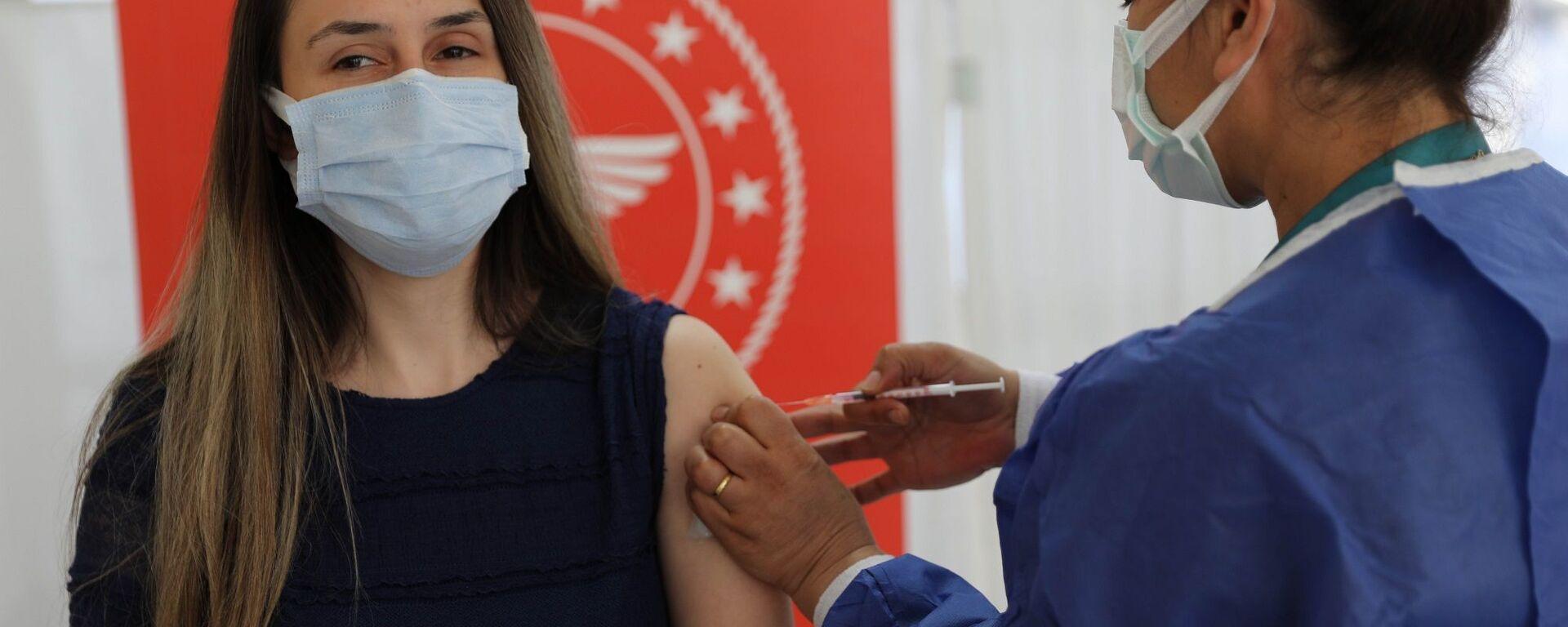 aşı - koronavirüs - Sputnik Türkiye, 1920, 27.07.2021