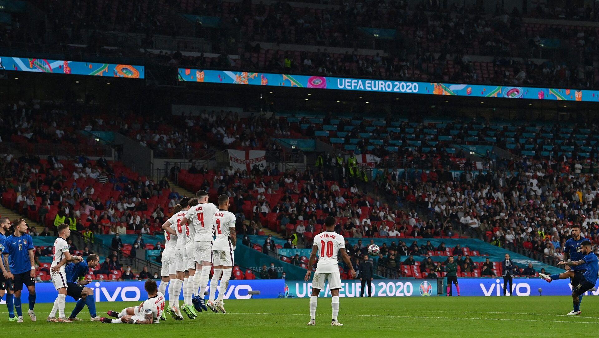 EURO 2020 İngiltere İtalya final maçı - Sputnik Türkiye, 1920, 03.08.2021