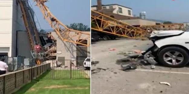 Kanada'nın British Colombia eyaletinde inşaat çalışmaları sırasında çöken vinç nedeniyle çok sayıda kişinin hayatını kaybettiği bildirildi.