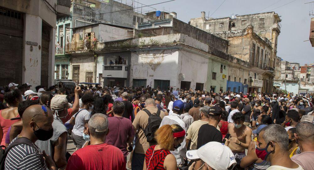 Küba - Protesto - 2021