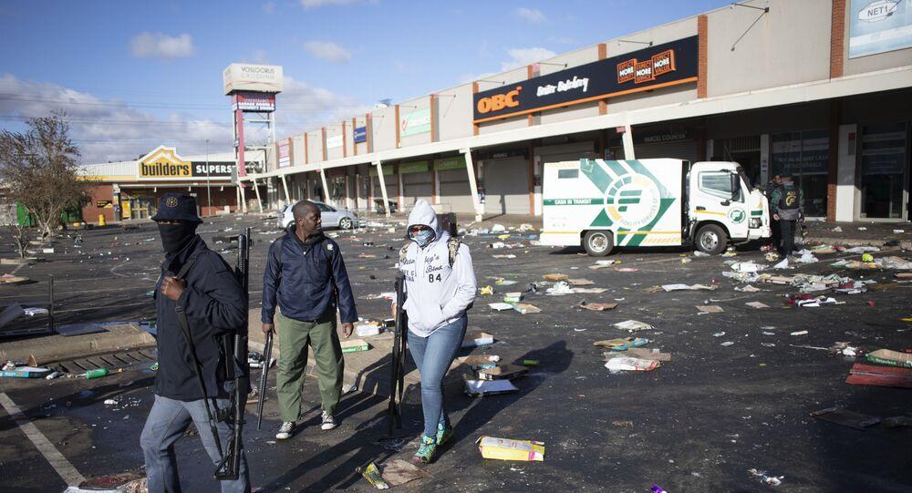 Güney Afrika'daki protestolarda can kaybı 45'e yükseldi